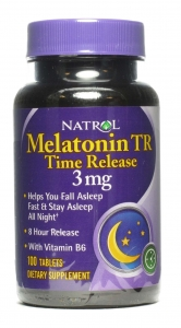 Natrol Melatonin Timed Release Tablets, 3mg 100ct