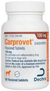 Carprovet (Carprofen) 100mg Caplets