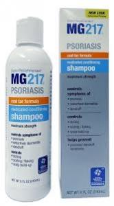 MG217 Psoriasis Medicated Conditioning 3% Coal Tar Formula Maximum Strength Shampoo - 8oz