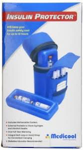 Medicool Insulin Protector Diabetic Insulin Carry Case, Blue
