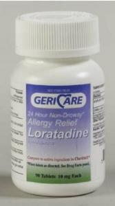 Geri-Care Loratadine 10mg Tablets- 90ct