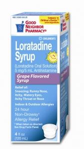 GNP® Children's Loratadine 5mg Liquid- 4oz