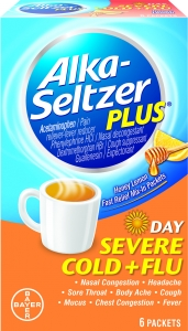 Alka-Seltzer Plus Severe Cold and Flu Day Powder- 6ct