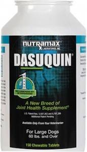 Dasuquin Chewable Tablets for Large Dogs(60 lbs and over)-150 Count Bottle