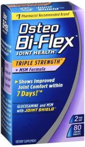 Osteo Bi-Flex Triple Strength + MSM Tablets, 80 Ct
