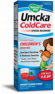 Nature's Way - Umcka ColdCare Children's Syrup Cherry - 4 oz.