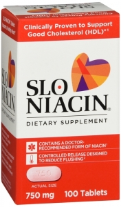 Slo-Niacin 750mg Tablet - 100 (Magna)