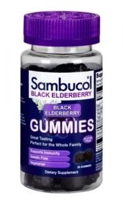 Sambucol Black Elderberry Gummies 50 mg - 30ct