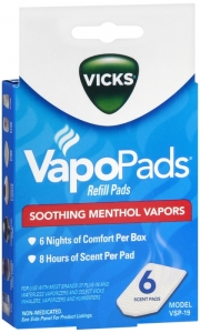 Vicks Scent Pads VSP-19  5ct