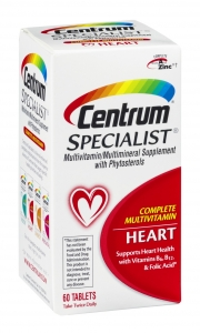 Centrum Specialist Complete Multivitamin Heart Tablets - 60ct