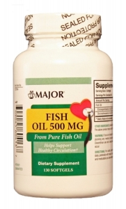 Major Fish Oil 500mg Capsules 130ct