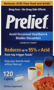 Prelief Acid Reducer Dietary Supplement Tablets - 120ct