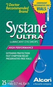 Systane Ultra Lubricant Eye Drops 0.7 mL vials 25ct
