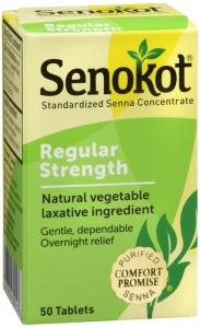 Senokot® Natural Vegetable Laxative- 50ct