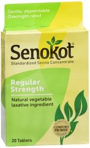 Senokot® Natural Vegetable Laxative- 20ct
