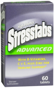 Stresstabs Advanced Tablet- 60 Count Bottle