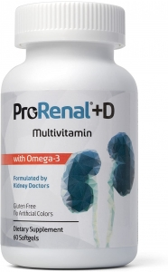 ProRenal+D With Omega 3 Softgels 60 ct