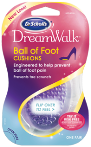 Dr. Scholl's DreamWalk Ball of Foot Cushions - 1 Pair