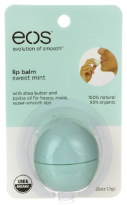 eos Lip Balm, Sweet Mint- 1ct