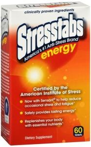 Stresstabs Energy Tablets - 60 Count Bottle