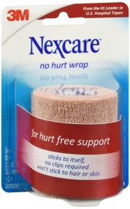 Nexcare No Hurt Wrap, 3 in x 2.2 yd