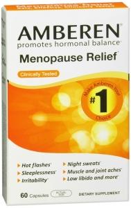 Amberen Multi-Symptom Menopause Relief Capsules, 60 Ct