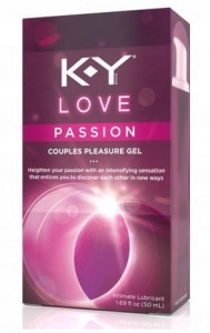 K-Y Love Passion Pleasure Gel - 1.69oz Tube