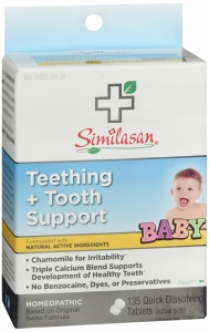 Similasan Teething + Tooth Support Quick Dissolving Tablets- 135ct