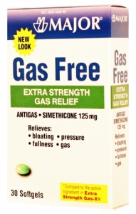 Gas Free 125mg Softgel (Major)- 30ct