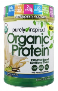 Purely Inspired 100% Plant-Based Protein Nutritional Shake Vanilla - 24 oz