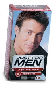 Just For Men Shampoo Hair Color Medium Brown