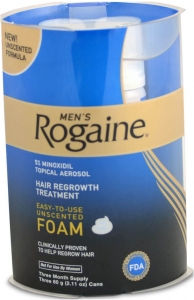 Men's Rogaine Foam Treatment - Three Month Supply