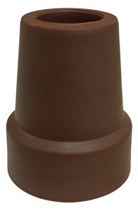 NOVA Medical Products Cane Replacement Tip, Brown