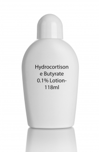 HYDROCORTISONE BUTYRATE 0.1% 118ML (Generic Locoid)