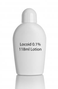 Locoid 0.1% 118ml Lotion