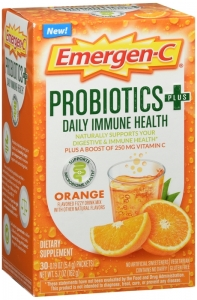 Emergen-C Probiotic Powder with Vitamin C - Orange - 30ct