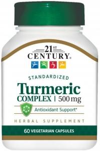 21st Century Turmeric Complex Vegetarian Capsules 500mg 60ct