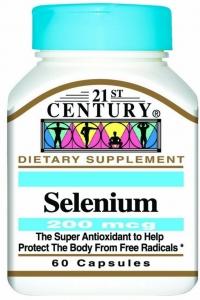 21st Century Selenium 200 mcg Capsules 60 ct