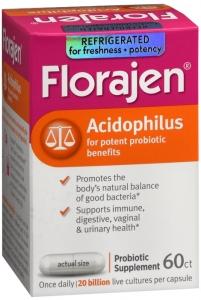 Florajen® High Potency Acidophilus Capsule- 60ct