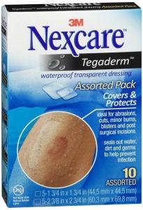Nexcare Tegaderm Transparent Dressings Assorted - 10 ct