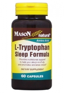 Mason Natural L-Tryptophan Sleep Formula Capsules 60ct