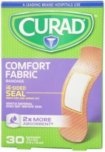 Curad Comfort Fabric Bandages 30ct