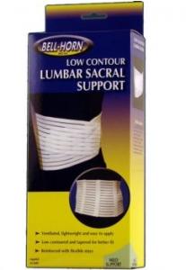Lumbar Sacral Support XXL White - 1ct