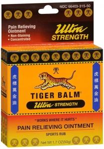 Tiger Balm Ultra Strength Sports Rub-50g