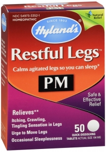 Hyland's Restful Legs PM Quick Dissolving Tablets - 50 ct
