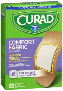 Curad Bandage Comfort Fabric, X-Large, 8ct