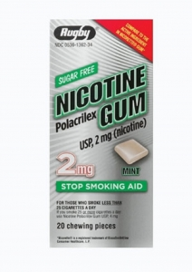 Nicotine Gum (2mg) Mint - 20 Pieces