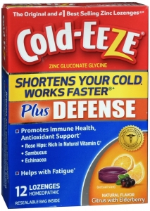 Cold-eeze Plus Defense Lozenges, Elderberry & Citrus, 12 ct