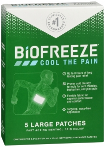 Biofreeze Pain Relieving Patch - 5ct