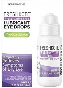 FreshKote Preservative Free Lubricant Eye Drops 2-2.7% - 10ml Bottle (OTC)